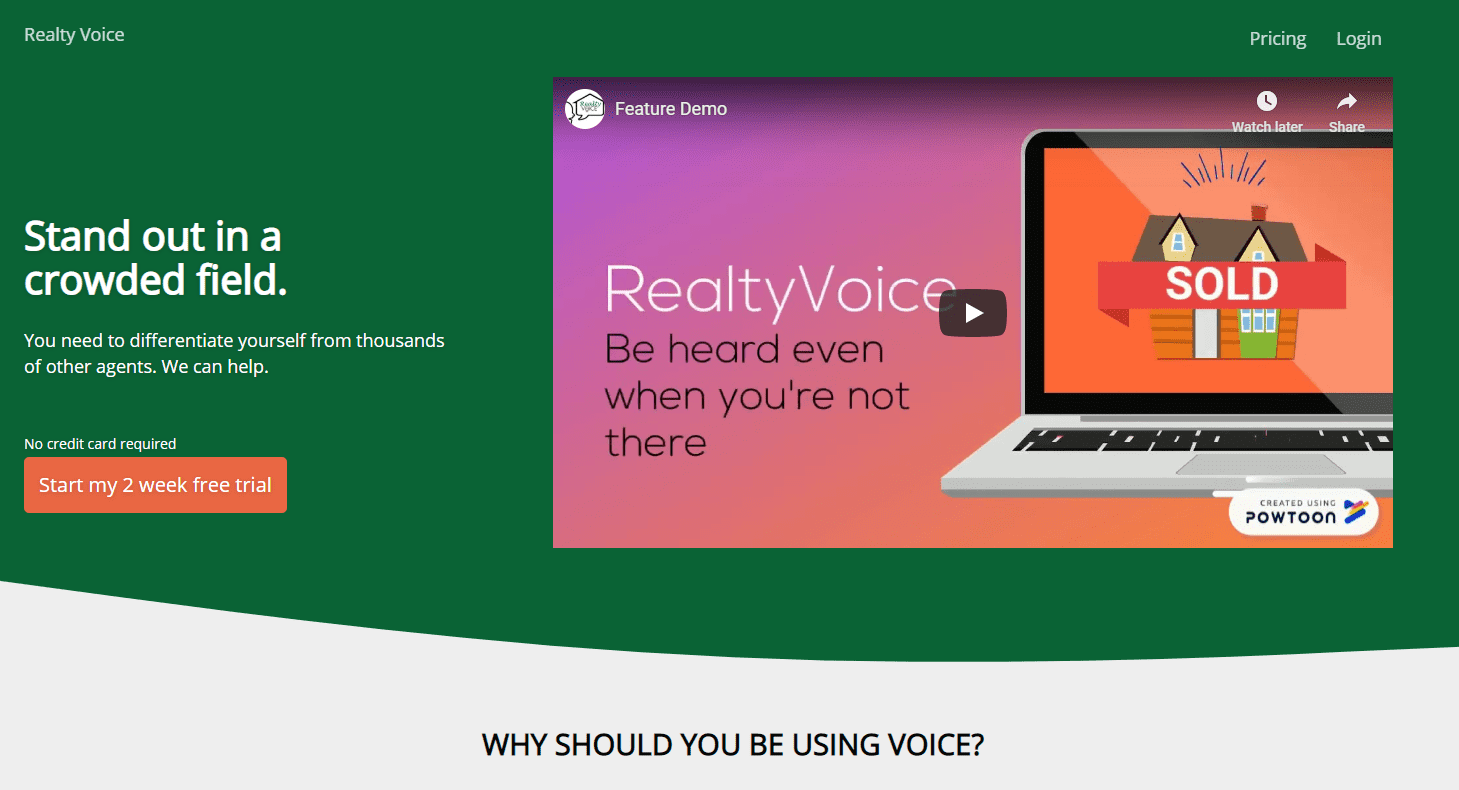 Realty Voice cover image